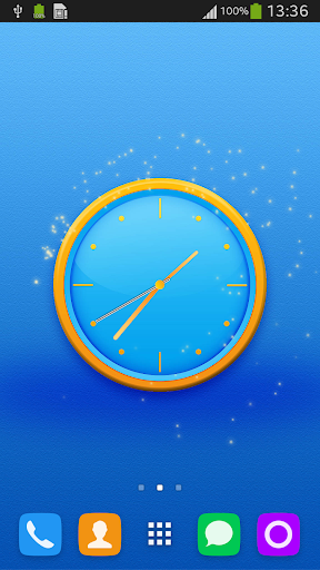 Free Background Clock
