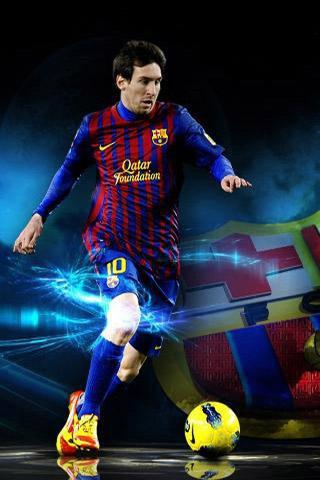Leo Messi Slide Wallpaper