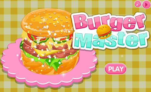 Burger Master Cooking Games