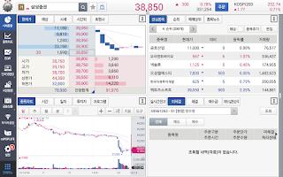Screenshot of 삼성증권 mPOP Tablet (태블릿)