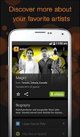 SoundHound Screenshot 2