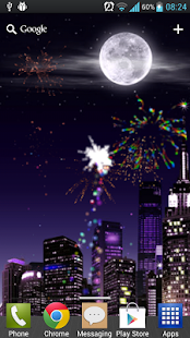 Fireworks Free Live Wallpaper - screenshot thumbnail