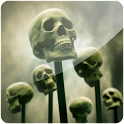 3D Skull logo