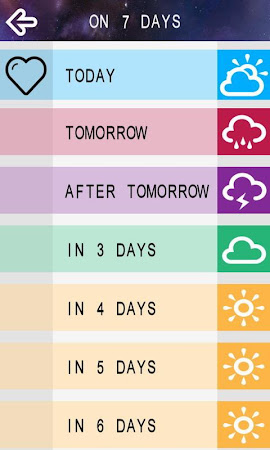 Horoscope Pocket Free 1.1 screenshot 21527