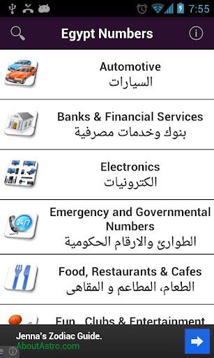 Egypt Numbers
