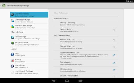 Sinhala Dictionary Offline Screenshot 29