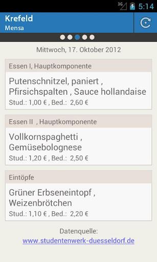 Mensa Krefeld HSN