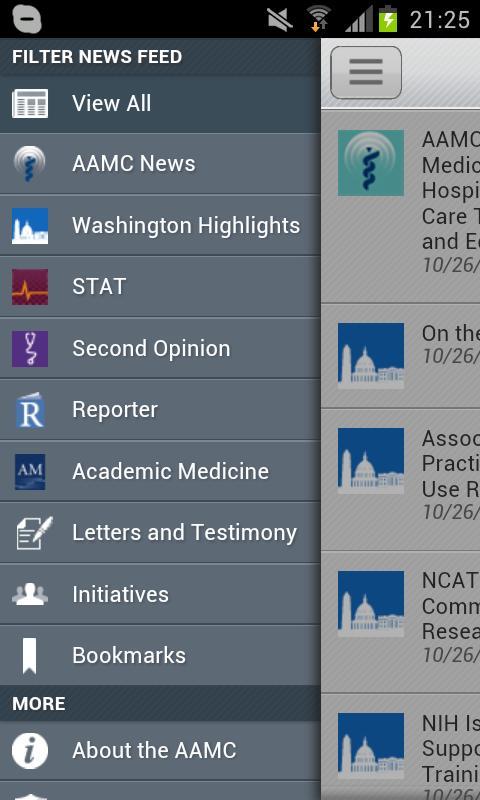 AAMCAction - screenshot