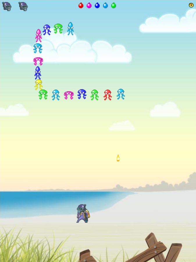 Jelly Invaders- screenshot