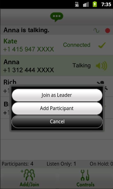 LoopUp Conference Controller - screenshot