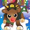 Christmas Rudolph LED (no ads) icon