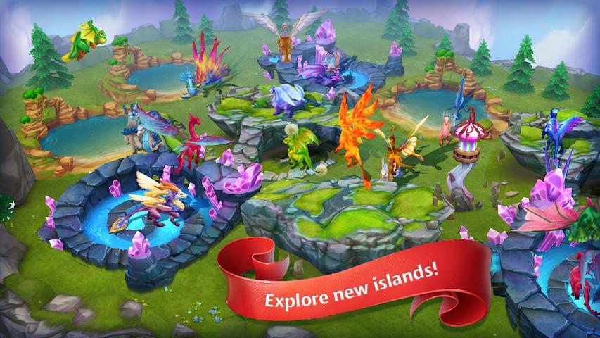 android Dragons World Screenshot 5