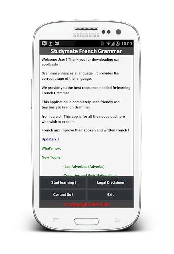 玩免費教育APP|下載Study Mate French Grammar app不用錢|硬是要APP