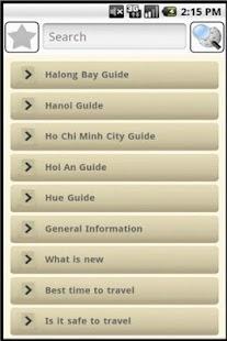 Vietnam Travel Guide- screenshot thumbnail