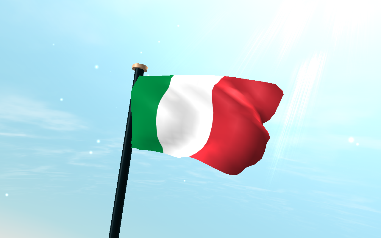Italy Flag 3D Live Wallpaper  Android Apps on Google Play