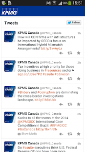 KPMG Tax Hub Canada- screenshot thumbnail
