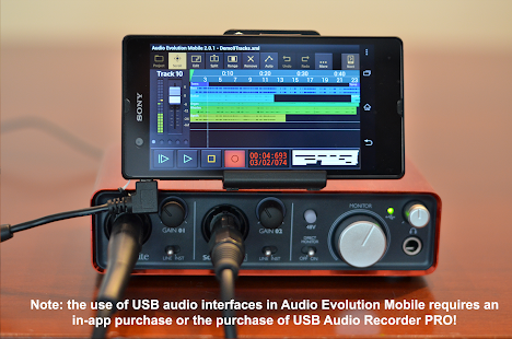 Audio Evolution Mobile Studio- screenshot thumbnail