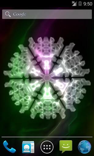 Snowflake Kaleidoscope Free