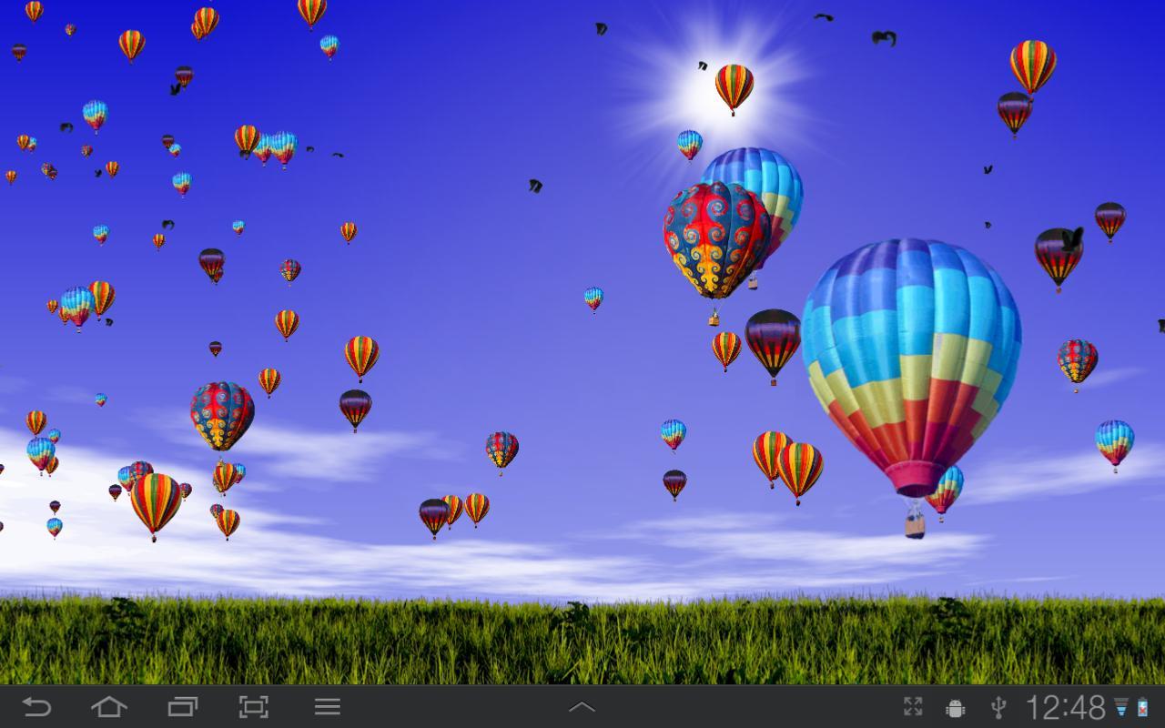 Hot Air Balloons Wallpaper Screenshot 1