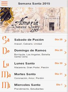 Guía Semana Santa Almería 2015 - screenshot thumbnail