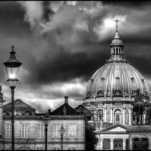 Denmark, Copenhagen Marble Church BW 2012-0001.jpg