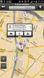 Orange Maps - screenshot thumbnail