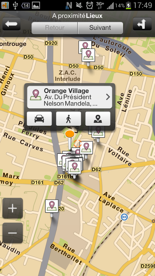 Orange Maps - screenshot