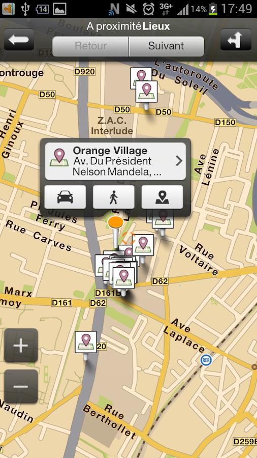 Orange Maps- screenshot