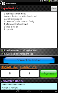 Kitchen Calculator (Converter) v3.2