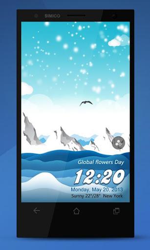 Snow【Creative Locker Theme】