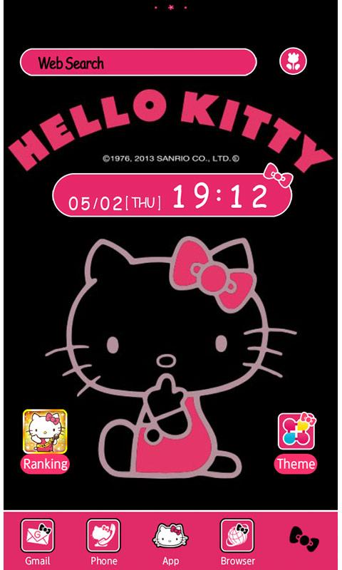 Hello Kitty Launcher Home Android Apps On Google Play