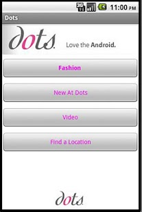 Dots Clothing Stores - screenshot thumbnail