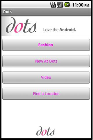 Dots Clothing Stores - screenshot