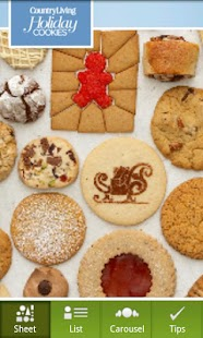 Country Living Holiday Cookies- screenshot thumbnail