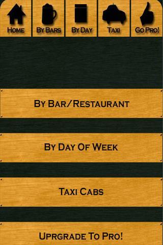 CMU Bar Specials