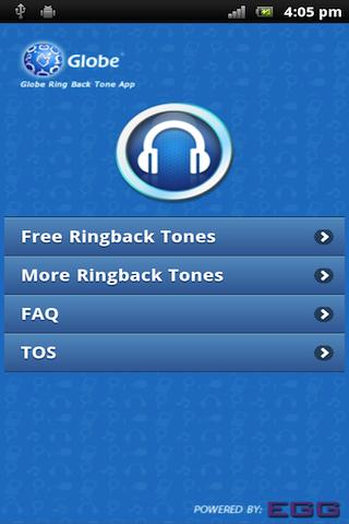 Globe Ringback Tone - screenshot