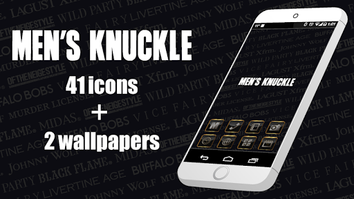 MEN'S KNUCKLE-Cool Icon WP