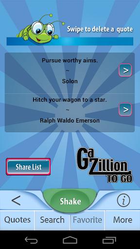 【免費生活App】Gazillion Be Positive Quotes-APP點子