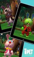 Screenshot of iPet James the Rabbit