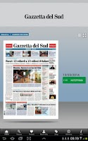 Screenshot of Gazzetta Del Sud