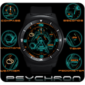 Psychron watch face