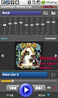 Screenshot of Audio Player WithEQ Trial