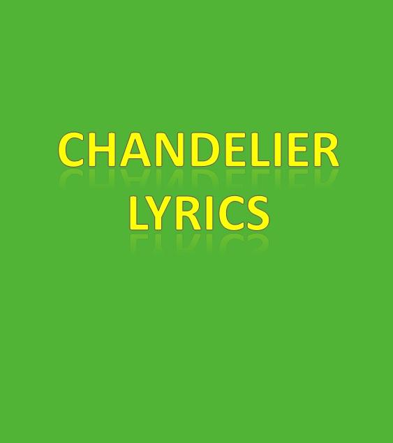 Chandelier Lyrics - Android Apps on Google Play