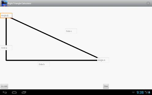how to find angles of a right triangle calculator