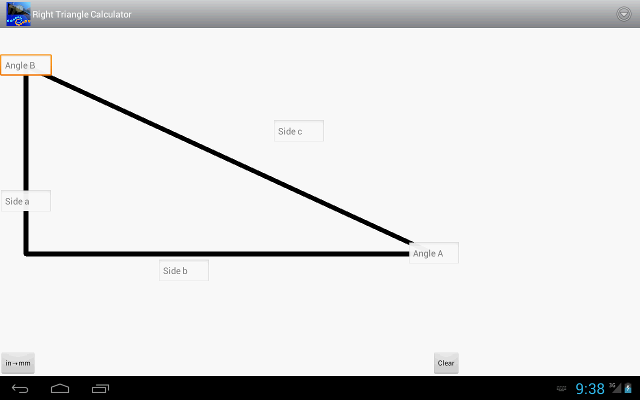 Decimal House Right Triangle Calculator Android Apps On Google Play