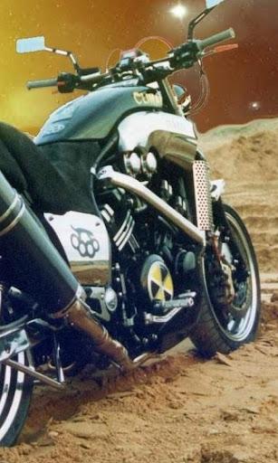 拼图摩托车
