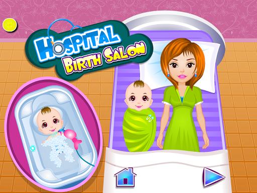 出生嬰兒沙龍遊戲