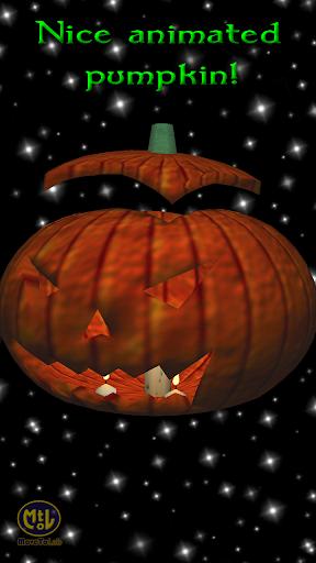 Pumpkin Candles HD Wallpaper