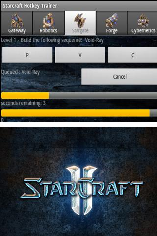 Starcraft Hotkey Trainer - screenshot