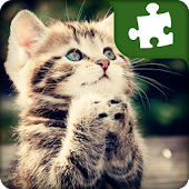 Cute Cats Puzzles  - fri